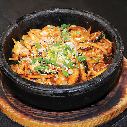 Seafood Bibimbap