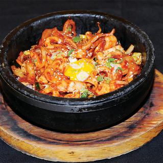Spicy Squid Bibimbap