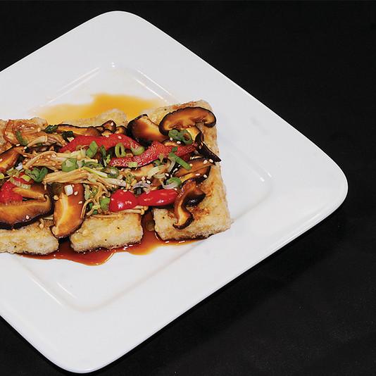 Pan fried Firm Tofu