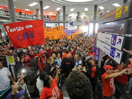 Cidades têm protestos contra reformas do governo Temer. Pelo menos 18 Estados e o DF registraram ato