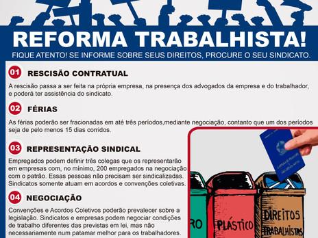 JORNAL DO SINPROMES/MS SOBRE A REFORMA TRABALHISTA.