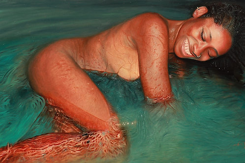 """Bliss 36"""" x 60"""" inches. True to size."""