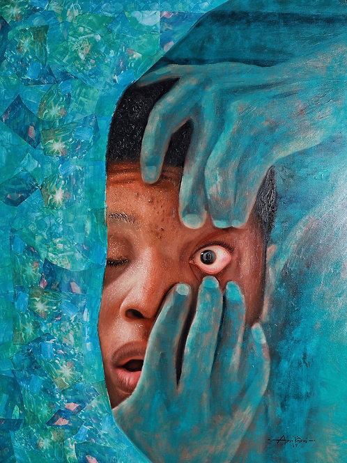 """Great Awakening   oil on canvas   36"""" x 46""""   2019"""