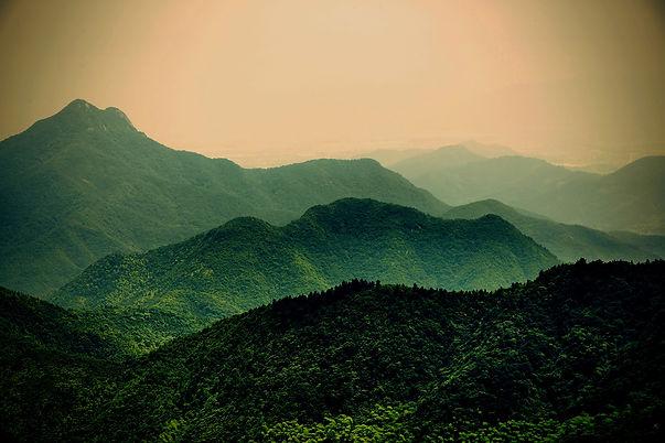 Nature and mountain range hero image