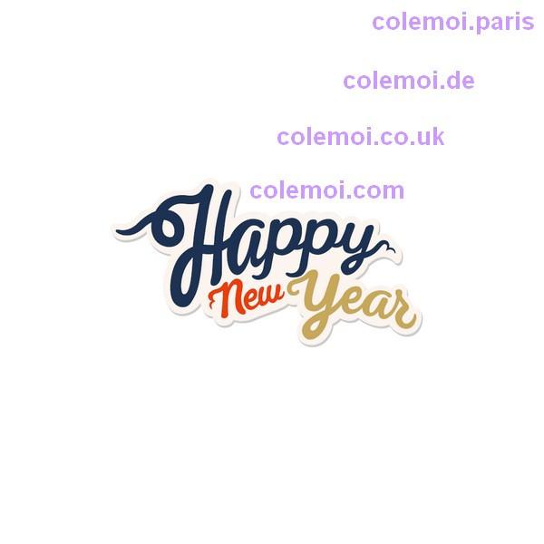 Bonne et heureuse année 2019!