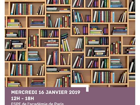 Salon des éditeurs scolaires à Paris