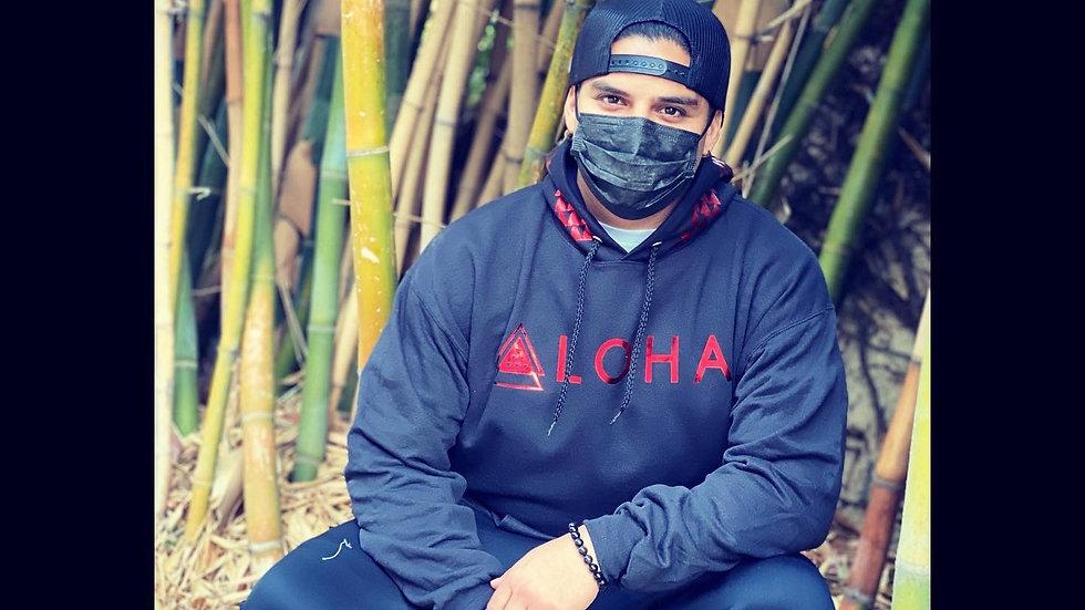 ALOHA hoodie/crew neck