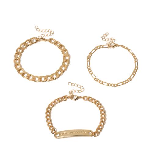 Chain Reaction Bracelet Duo