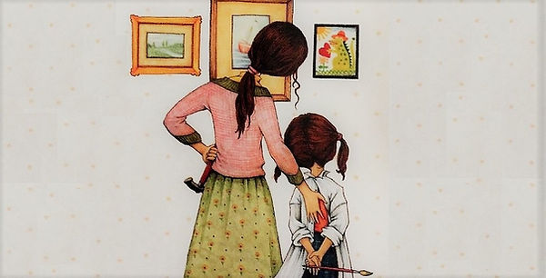 mamma, figli, mostra, museo, osservare, scoprire, guardae insieme, emozioni, riflettere, discutere, creare, laboratorio, libri, azioni, dire, fare