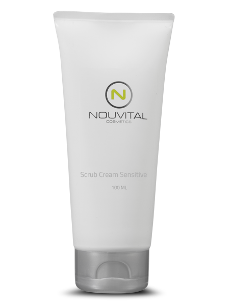 Scrub cream sensitive