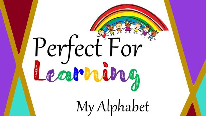 My Alphabet Handwriting Book