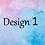 Thumbnail: Double-sided Personalised Handwriting Sheet