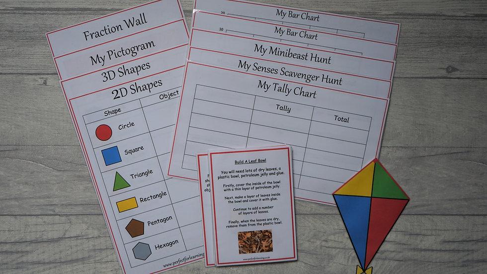 Outdoor Learning Pack - KS1