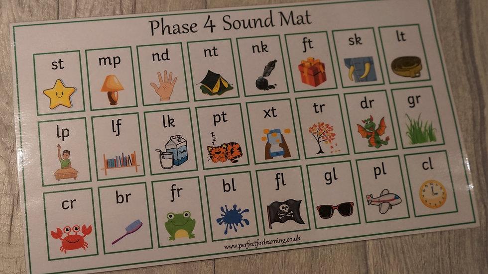 Phase 4 Phonics Sound Mat