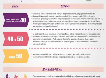 Check Up para Mulheres em BH e Lagoa Santa - MG