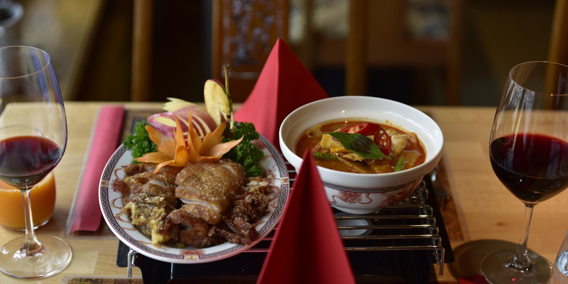 Thai, China