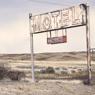 Motel Somewhere in New Mexico