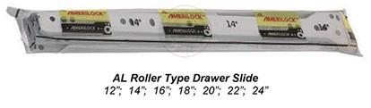 Roller Drawer Slides