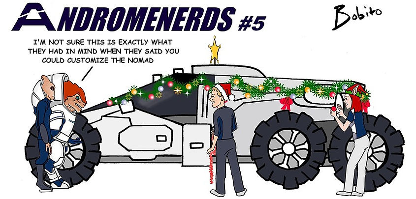 Customising the NOMAD for Christmas