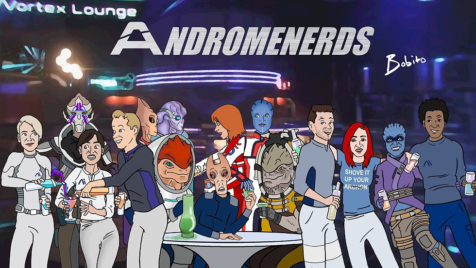Lauch party. Andromeda here we come.