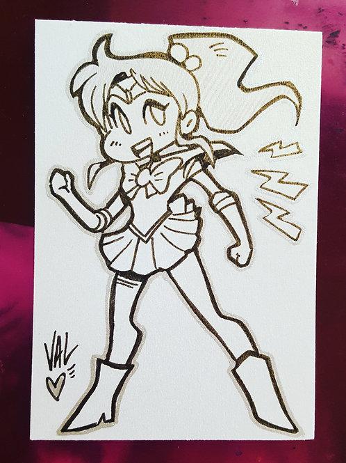 Sailor Jupiter - Daily Doodle