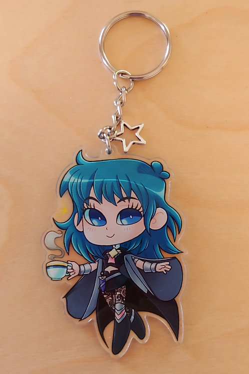 Perfect Teatime Byleth - Acrylic Charm