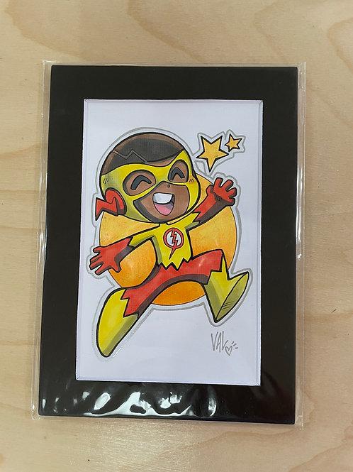 Kid Flash - Original Art