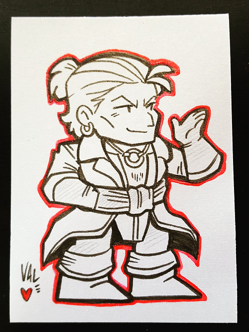 Varric - Daily Doodle