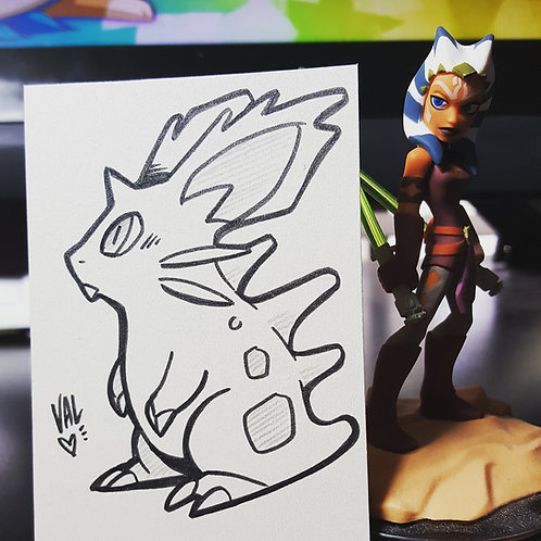 #029 - Nidoran - Pokemon Art Card