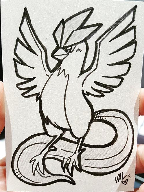 #144 - Articuno - Pokemon Art Card