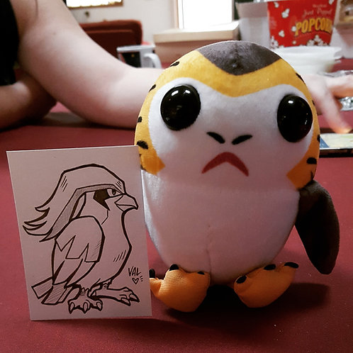 #018 - Pidgeot - Pokemon Art Card