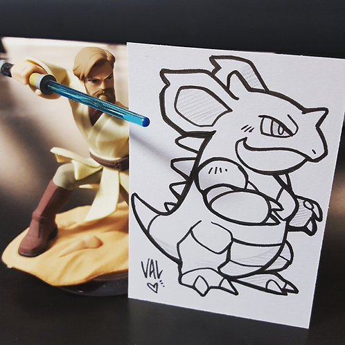 #031 - Nidoqueen - Pokemon Art Card