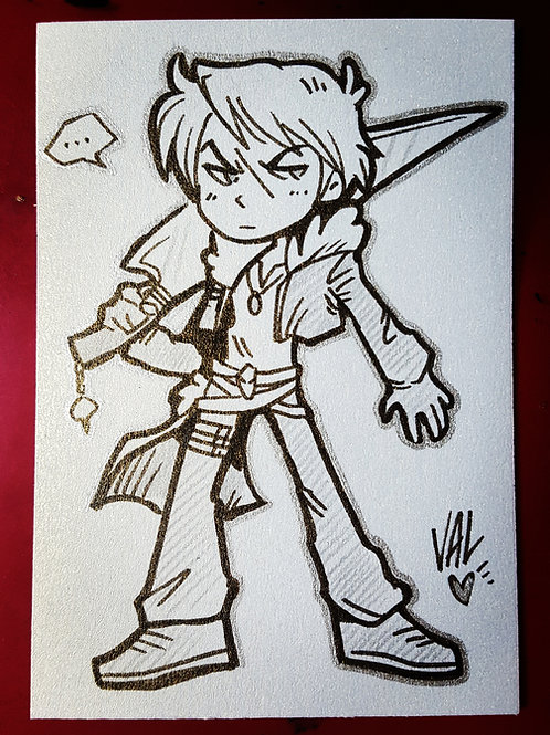 Squall - Daily Doodle