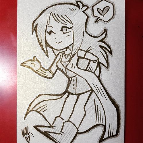 Rinoa - Daily Doodle