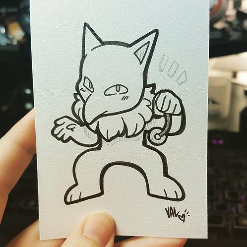 #097 - Hypno - Pokemon Art Card