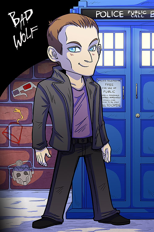 The 9th Doctor - Large Print