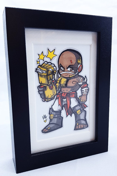 Doomfist - Framed Original Art