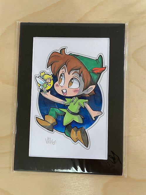 Peter Pan & Tinkerbell - Original Art