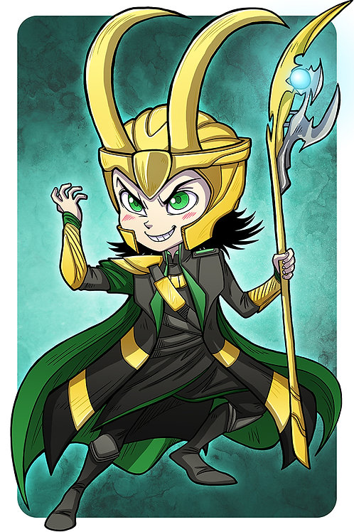 Loki - Large Print