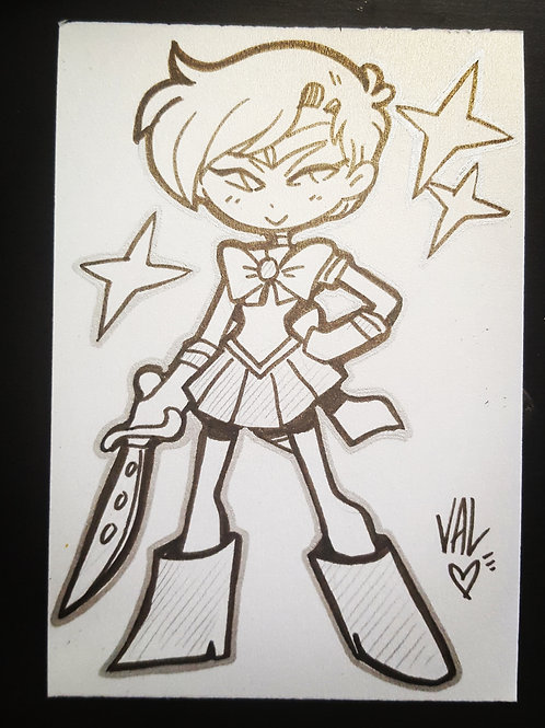 Sailor Uranus - Daily Doodle