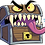 Thumbnail: Mimic - D&D - Sticker