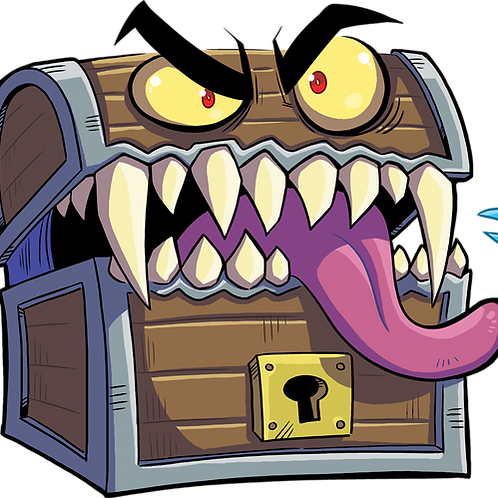 Mimic - D&D - Sticker
