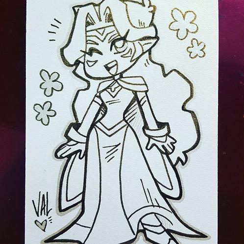 Princess Allura - Daily Doodle