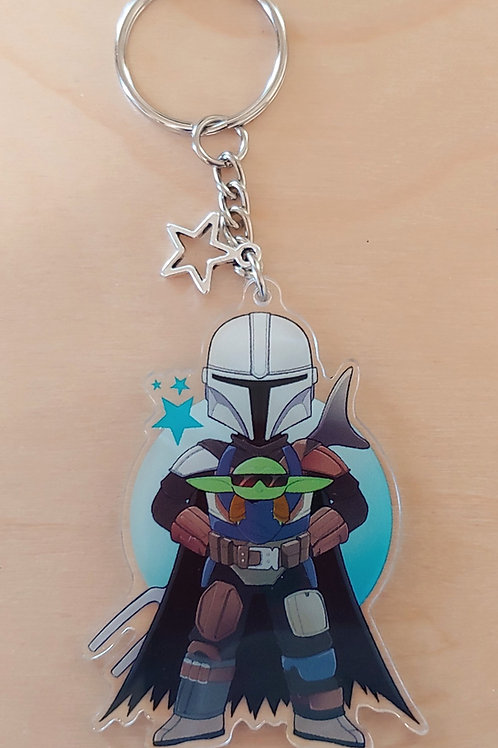 Best Dad - Acrylic Charm