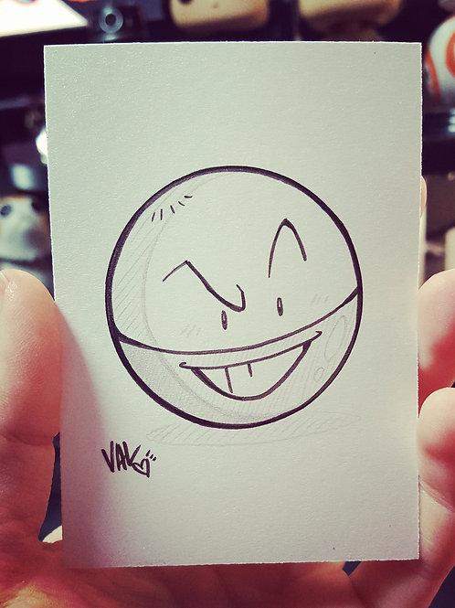 #101 - Electrode - Pokemon Art Card