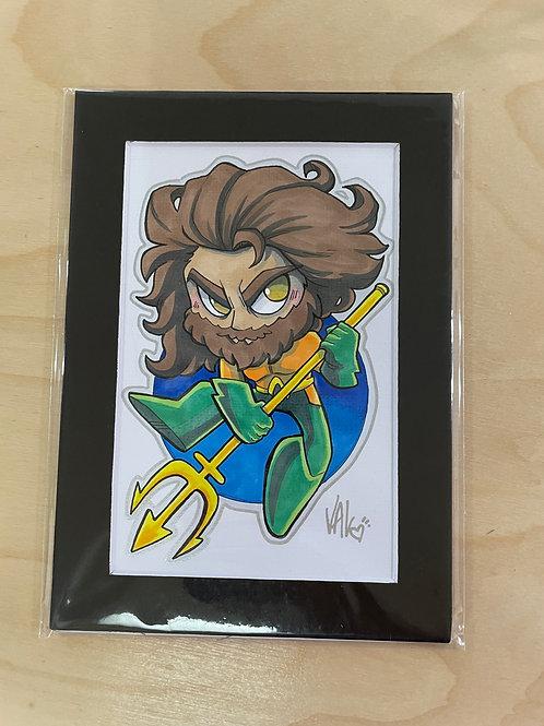Aquaman - Original Art