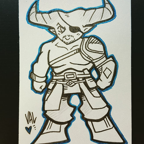 Iron Bull - Daily Doodle