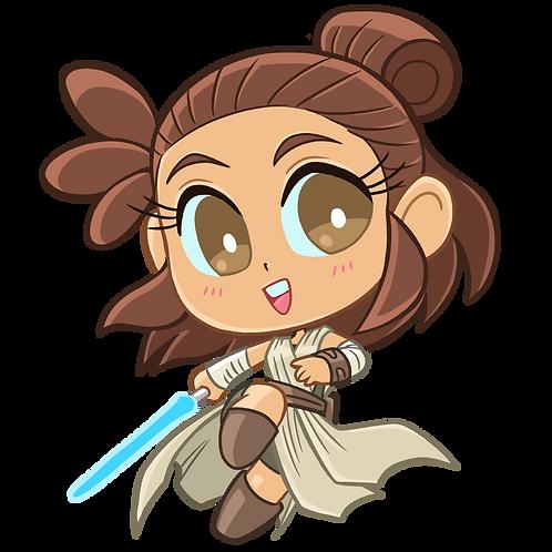 Rey - Sticker