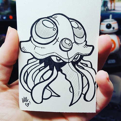 #073 - Tentacruel - Pokemon Art Card