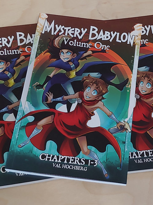 Mystery Babylon Vol 1 - Chapters 1-3 Omnibus